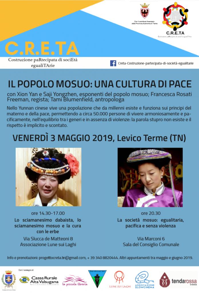 Due donne di etnia Mosuo in Trentino a Levico Terme per la prima volta! Incontro diplomatico e scambio culturale.