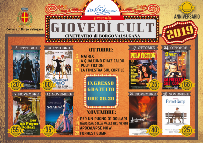 review of free admission films in Trentino